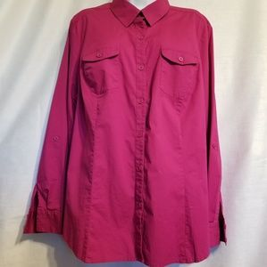 Style & Co. Button down top, size 20W